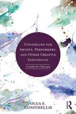 Counseling for Artists, Performers, and Other Creative Individuals