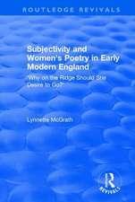 SUBJECTIVITY AND WOMEN S POETRY IN