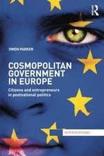 Cosmopolitan Government in Europe