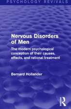 Nervous Disorders of Men