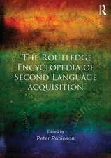 The Routledge Encyclopedia of Second Language Acquisition:  An Archaeological Study