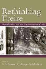 Re-Thinking Freire