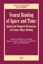 Neural Binding of Space and Time