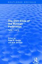 THE CIVIL CODE OF THE RUS