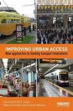 Improving Urban Access