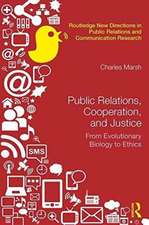 Public Relations, Cooperation and Justice