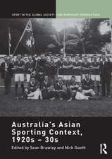 Australia's Asian Sporting Context, 1920s 30s:  Beyond Domestic Manners
