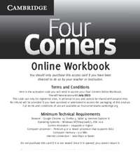 Four Corners Level 4 Online Workbook (Standalone for Students)