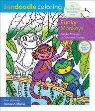Zendoodle Coloring: Funky Monkeys: Playful Primates to Color and Display