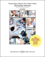 Technology Ventures: From Idea to Enterprise (Int'l Ed)