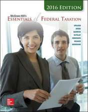 McGraw-Hill's Essentials of Federal Taxation, 2016 Edition