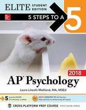 5 Steps to a 5: AP Psychology 2018, Elite Student Edition