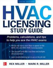 HVAC Licensing Study Guide, Third Edition