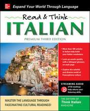 Read & Think Italian, Premium Third Edition