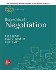 ISE Essentials of Negotiation