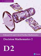 Edexcel AS and A level Further Mathematics Decision Mathematics 2 Textbook + e-book