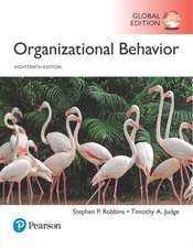 Organizational Behavior plus Pearson MyLab Management with Pearson eText, Global Edition