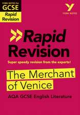 York Notes for AQA GCSE (9-1) Rapid Revision: The Merchant of Venice