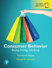 Solomon, M: Consumer Behavior: Buying, Having, and Being