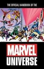 Official Handbook Of The Marvel Universe Omnibus