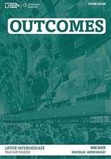 Outcomes  B2.1/B2.2: Upper Intermediate - Teacher's Book + Audio-CD