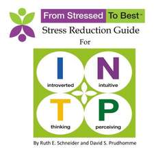 Intp Stress Reduction Guide