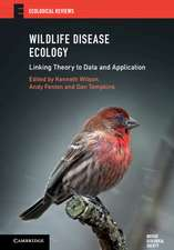 Wildlife Disease Ecology: Linking Theory to Data and Application