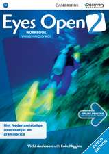 Eyes Open Level 2 Workbook with Online Practice (Dutch Edition)