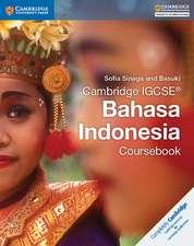 Cambridge IGCSE® Bahasa Indonesia Coursebook