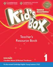 Kid's Box Level 1 Teacher's Resource Book with Online Audio British English