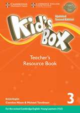 Kid's Box Level 3 Teacher's Resource Book with Online Audio British English