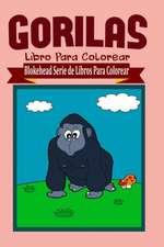 Gorilas Libro Para Colorear