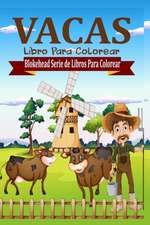 Vacas Libro Para Colorear