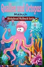 Quallen Und Octopus Malbuch