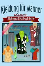 Kleidung Fur Manner Malbuch