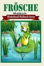 Frosche Malbuch