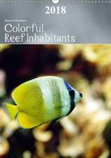 Colorful Reef Inhabitants (Wall Calendar 2018 DIN A3 Portrait)