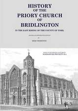 History of the Priory Church of Bridlington
