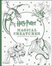 Carte de colorat Harry Potter Magical Creatures