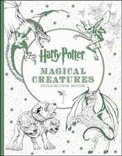 Carte de colorat Harry Potter Magical Creatures
