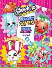 Grocery Games! (Shopkins:  Jumbo Sticker Activity Book)