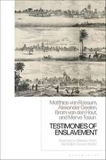 Testimonies of Enslavement: Sources on Slavery from the Indian Ocean World