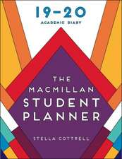 The Macmillan Student Planner 2019-20: Academic Diary