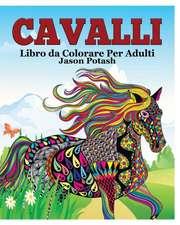 Cavalli Libro Da Colorare Per Adulti