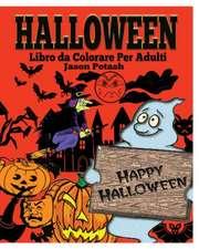 Halloween Libro Da Colorare Per Adulti