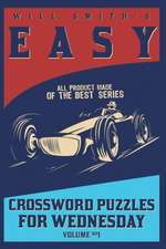 Will Smith Easy Crossword Puzzle for Wednesday - Volume 1
