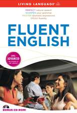 Fluent English [With CDROM and 3 60-Minute Audio CDs]:  Basic English Made Simple [With Paperback Book]