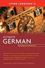 Ultimate German Beginner-Intermediate (BK)