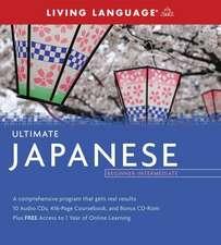 Ultimate Japanese Beginner-Intermediate (PKG)