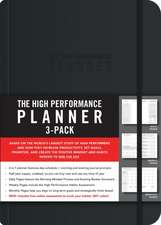 High Performance Planner Half-Year Pack